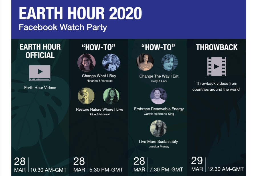 earth hour watch party